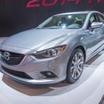 Постер, плакат: 2014 Mazda 6 Silver Car
