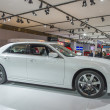 Постер, плакат: 2013 Chrysler 300C Luxury car image white 2