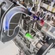 Car engine cutaway detailed motor — ストック写真