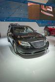 2013 Chrysler 200 car model black — Stock Photo