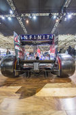 Infinity and Red Bull Formula One Car — Stock Photo