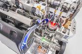 Car engine cutaway detailed motor — Stock Photo