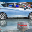 2014 Nissan Versa Note Hatchback car — Stock Photo