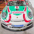 Porche Race Car at Auto Show — Foto Stock #23806207