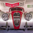 Classic Jaguar XK 140 at the car show - Stock Photo