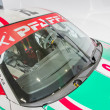 Porche Race Car at the Auto Show - Stock fotografie