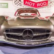 Classic mercedes benz auto at the car show - Stockfoto
