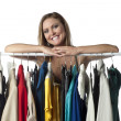 Smiling boutique owner — Stock Photo #23809385