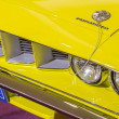 Plymouth Baracuda 383 Engine Car - Stockfoto