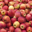 Stock Photo: Stack of red apples