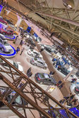Car Show Floor Panoramic Photo — Stock Photo