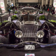 Classic Hot Rod Car at Auto Show — Foto Stock #23846643
