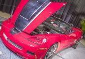 Klasyczne corvette auto show samochód — Zdjęcie stockowe