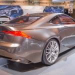 Постер, плакат: 2014 Lexus LF LC Concept Car silver