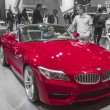 2014 bmw convertable red sports car — Stock Photo #23865745