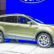 2014 Ford Escape Titanium SUV Truck Green - Stock Photo