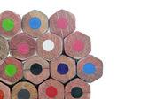 Ołówek różne kolory — Zdjęcie stockowe