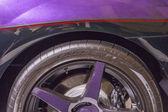 Klasik arabalar araba gösterisi — Stok fotoğraf