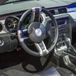 Постер, плакат: 2014 ford mustang convertable interior