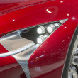 Royalty-Free Stock Photo: 2014 Lexus LF-LC Concept Car red