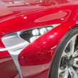 Постер, плакат: 2014 Lexus LF LC Concept Car red