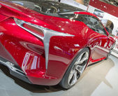 2014 Lexus LF-LC Concept Car red — Stock Photo