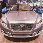 2014 Jaguar XJ Luxary Car — Stock Photo #23880371