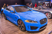 2014 Jaguar XF Sports Luxary Car — Fotografia Stock
