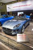 2014 jaguar xk grand touring car — Zdjęcie stockowe