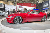 2014 Lexus LF-LC Concept Car red — Stock Photo