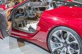 2014 voiture lexus lf-lc concept rouge — Photo