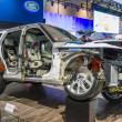 2014 Range Rover Truck Cutaway — Stock Photo