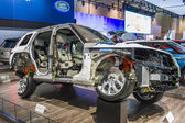 2014 Range Rover Truck Cutaway — Stock Photo