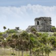 Royalty-Free Stock Photo: Ancient mayan ruins in tulum mexico