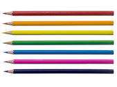 Assorted coloring pencil — Stock Photo
