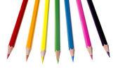 Lápiz color surtido — Foto de Stock