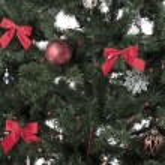 Decorative christmas tree — Stock Photo #24388199