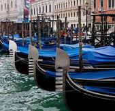 Gondolas.Venice. — Stock Photo