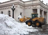 Zařízení k odklízení sněhu — Stock fotografie