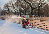 Snow Removal Equipment — Stock Photo
