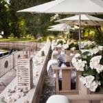 Summer restaurant terrace — Stock Photo #30840901