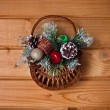 Christmas basket — Stock Photo #34931847