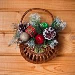 Christmas basket — Stock Photo #34931853