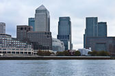 Centre of global finance. Canary Warf. London — Stock Photo
