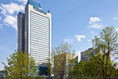 Gazprom tower headquater. Moscow. — Stock Photo