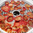 Italian Mediterranean sun dried tomatoes dried in a food dehydrator dry — Stock Photo