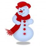 Snowman — Stock Photo #14359227