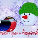 Snowman — Stock Photo #14396919