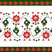 Illustrazione di fiori ornamentali. — Foto Stock