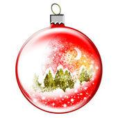 Christmas toy ball. — Stock Photo
